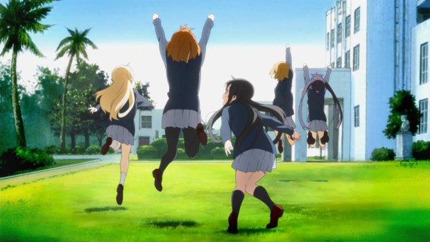 K on cheering