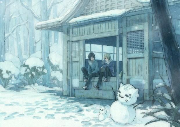 Natsume ad Tanuma in winter