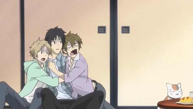Natsume scared