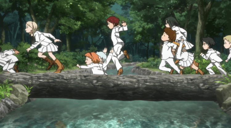 The promised neverland episode 3 (28)