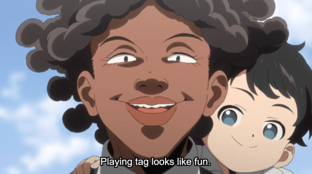The promised neverland episode 3 (34)
