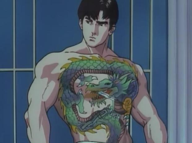 anime tattoo