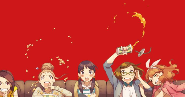 watching anime