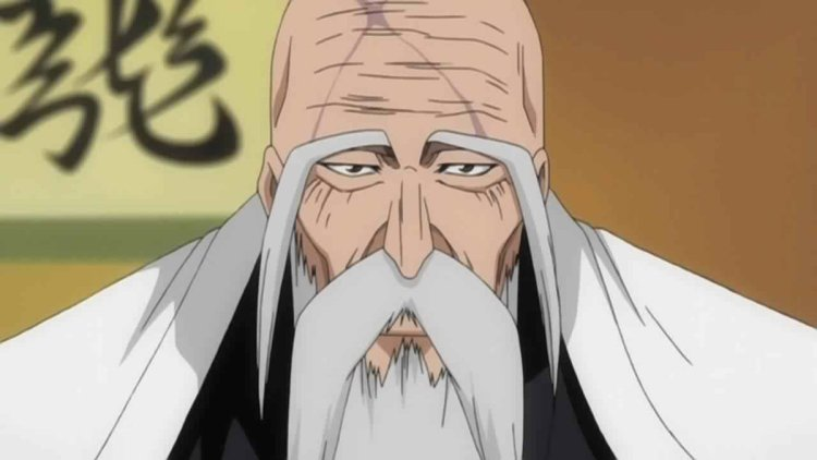 anime old dude