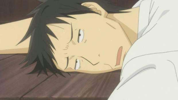 anime exhausted
