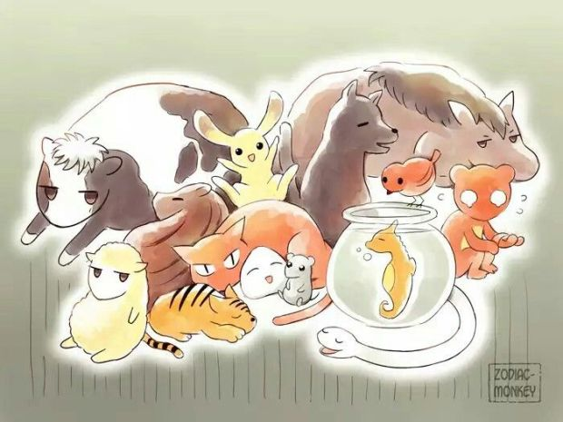 fruits basket animals