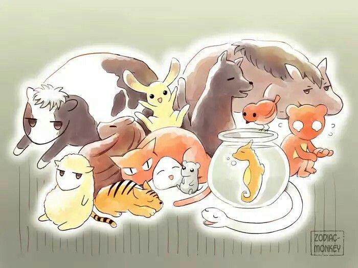 fruits basket animals