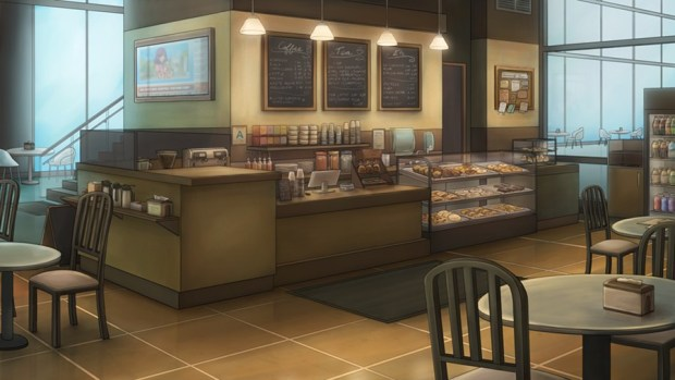 anime coffee shop