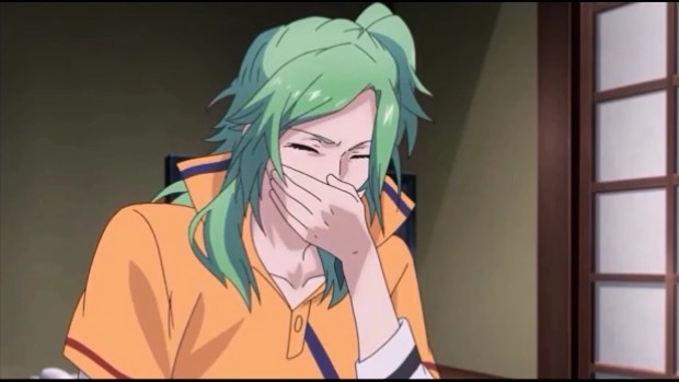 anime coughing