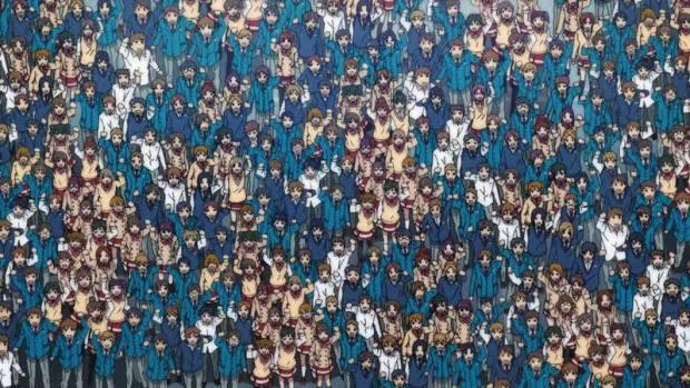 anime crowd