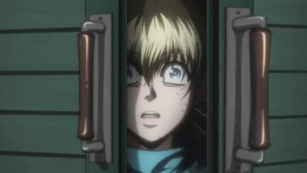 Hellsing Sera is scared