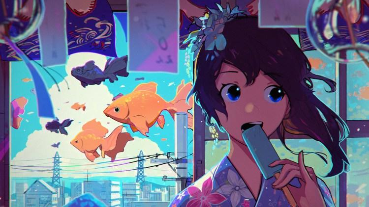 anime popsicle stick