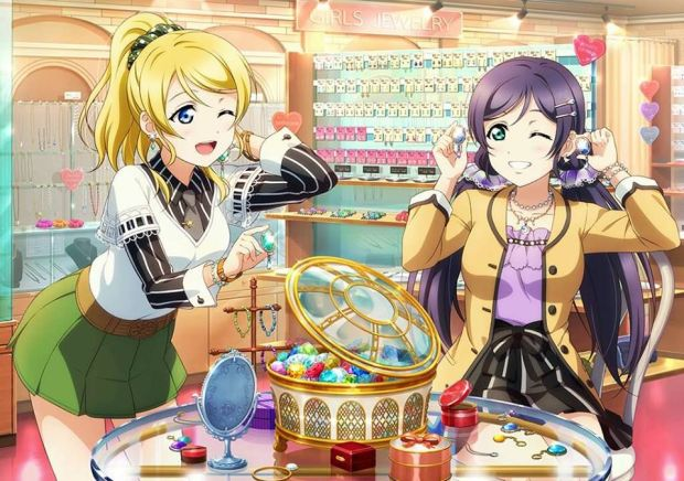 Anime love live jewellery