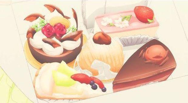 anime pasteries