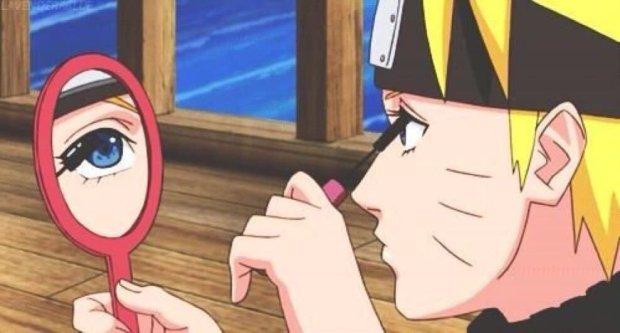 Naruto makeup