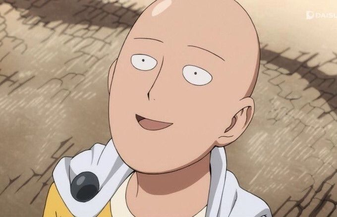 one punch man relieved