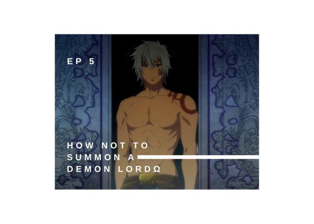 Irinas Episode reveiews How Not to Summon a Demon Lord 2 ep 5
