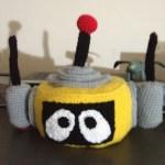 Crocheted plex head