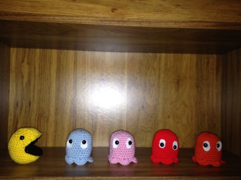 New Pattern Tuesday – Pac-Man Ghost