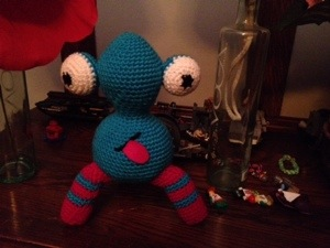 Crochet monster pattern