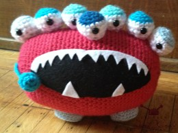 Free crochet monster pattern
