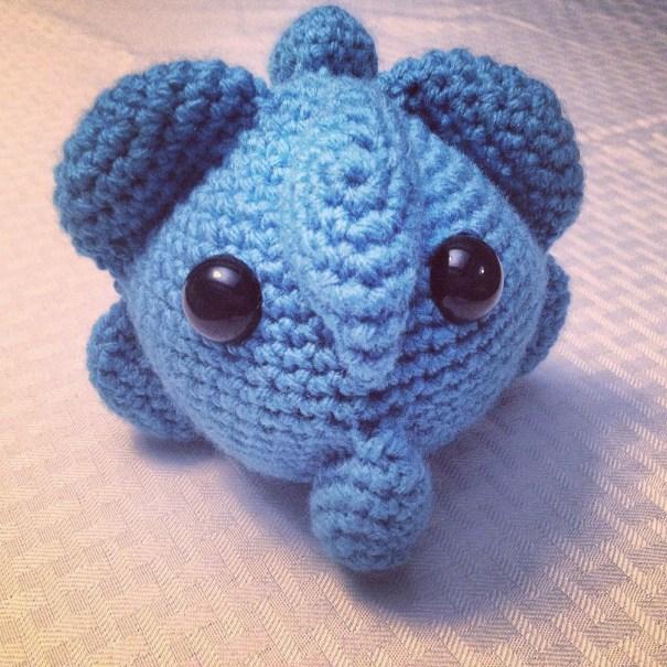 Free crochet cold virus pattern