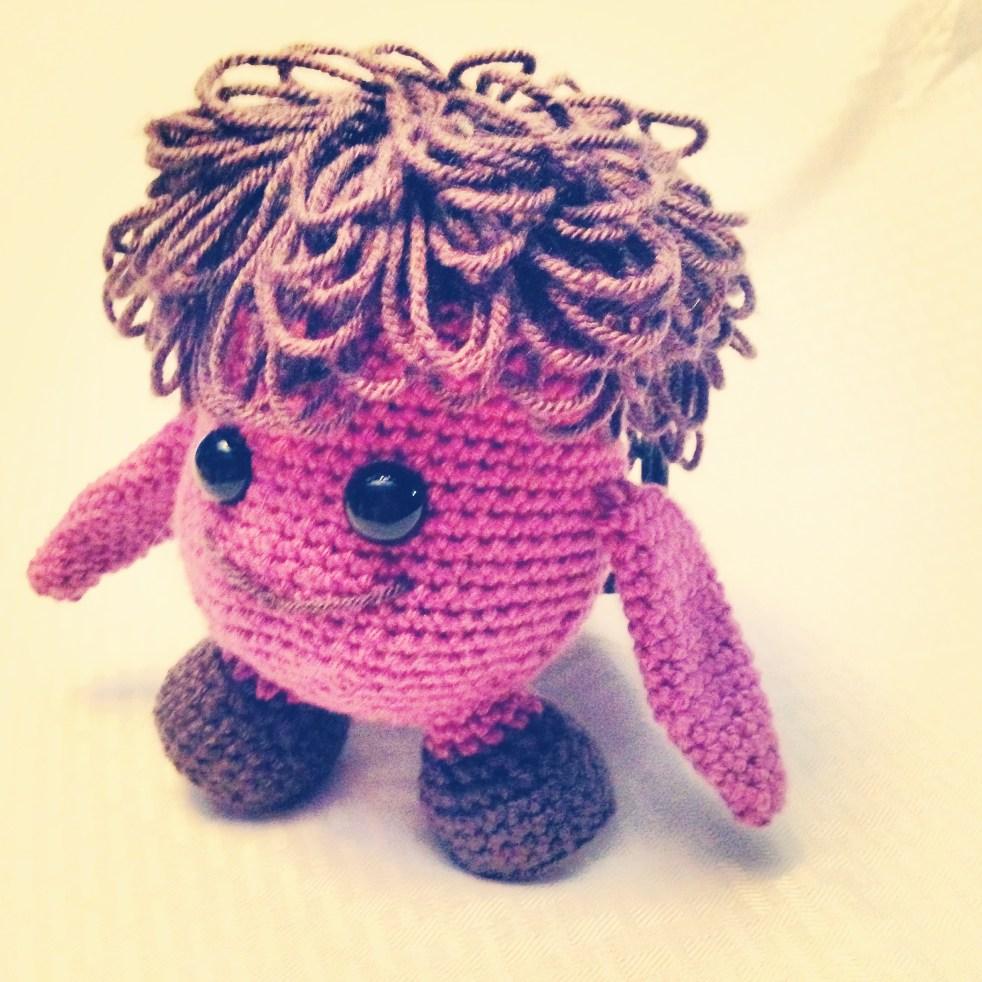 Crochet monster pattern free