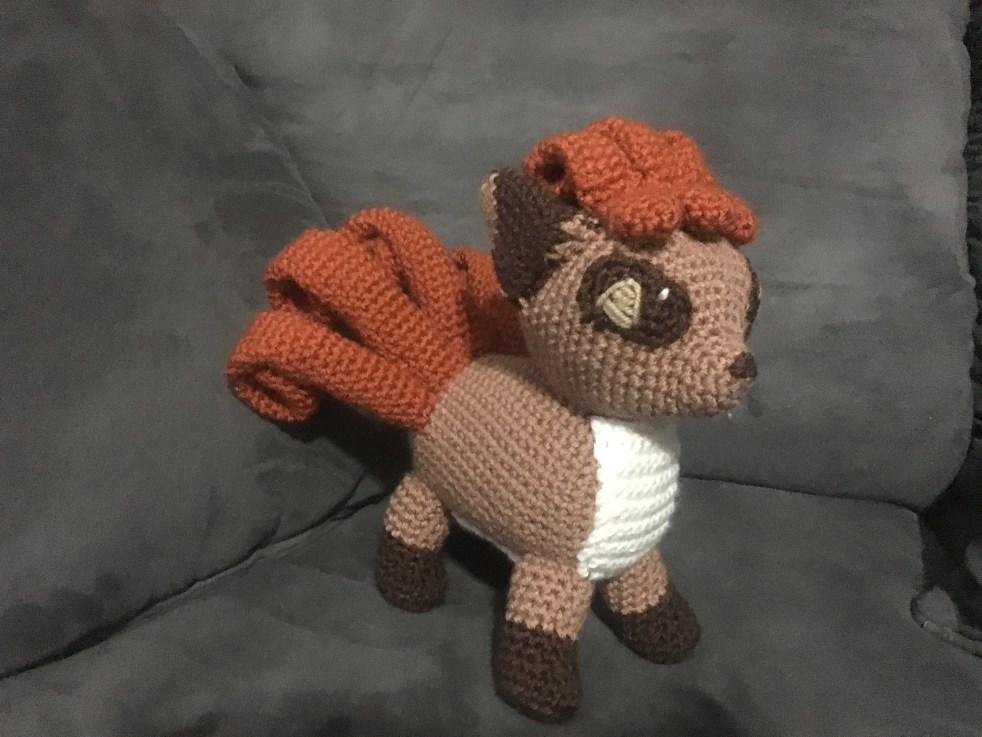 Vulpix Crochet Pattern