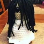 Drunken Aunt Wendy Crocheted Samara Doll