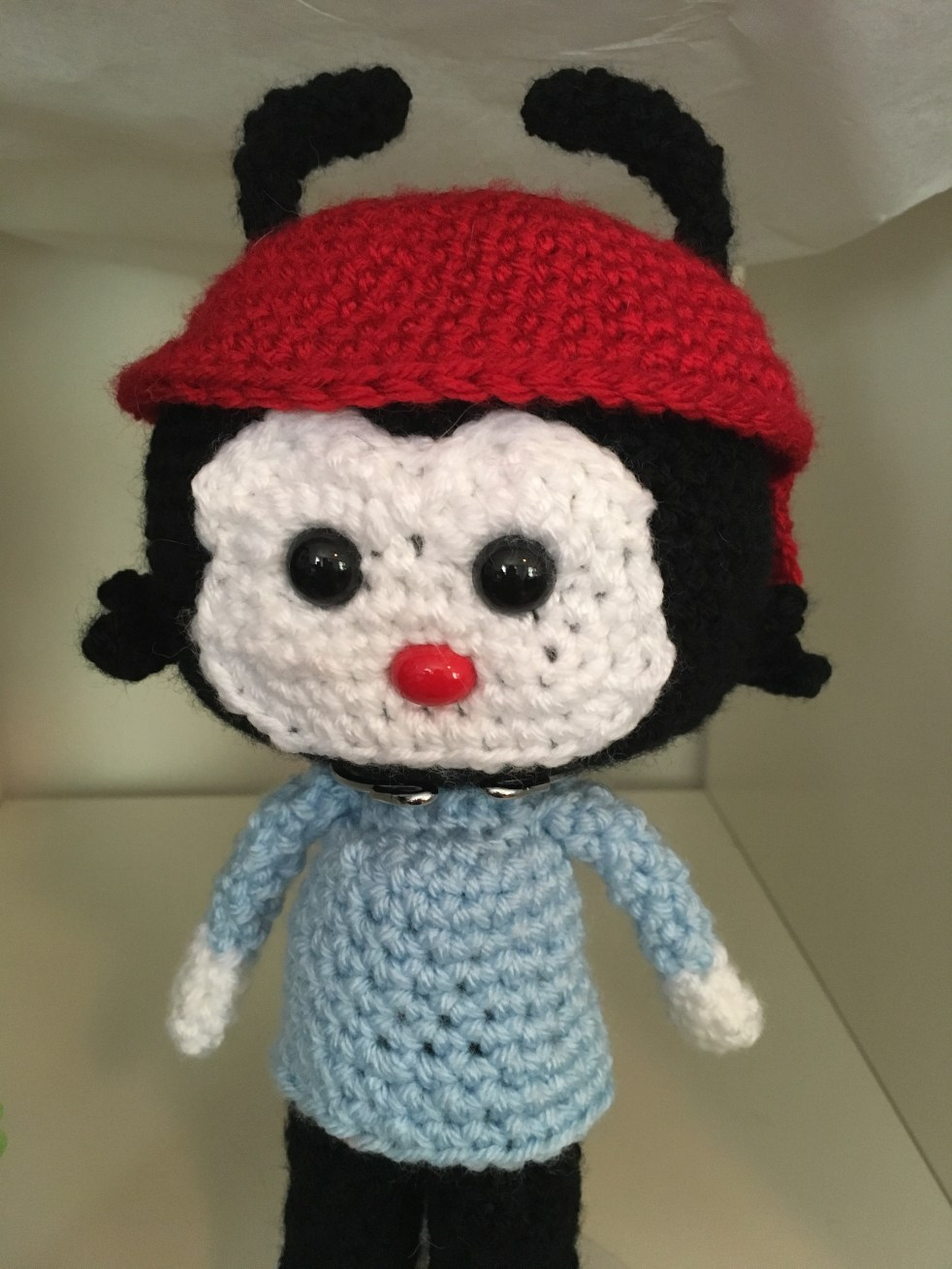 Crocheted Wakko Pattern