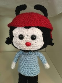 Crocheted Wakko Pattern