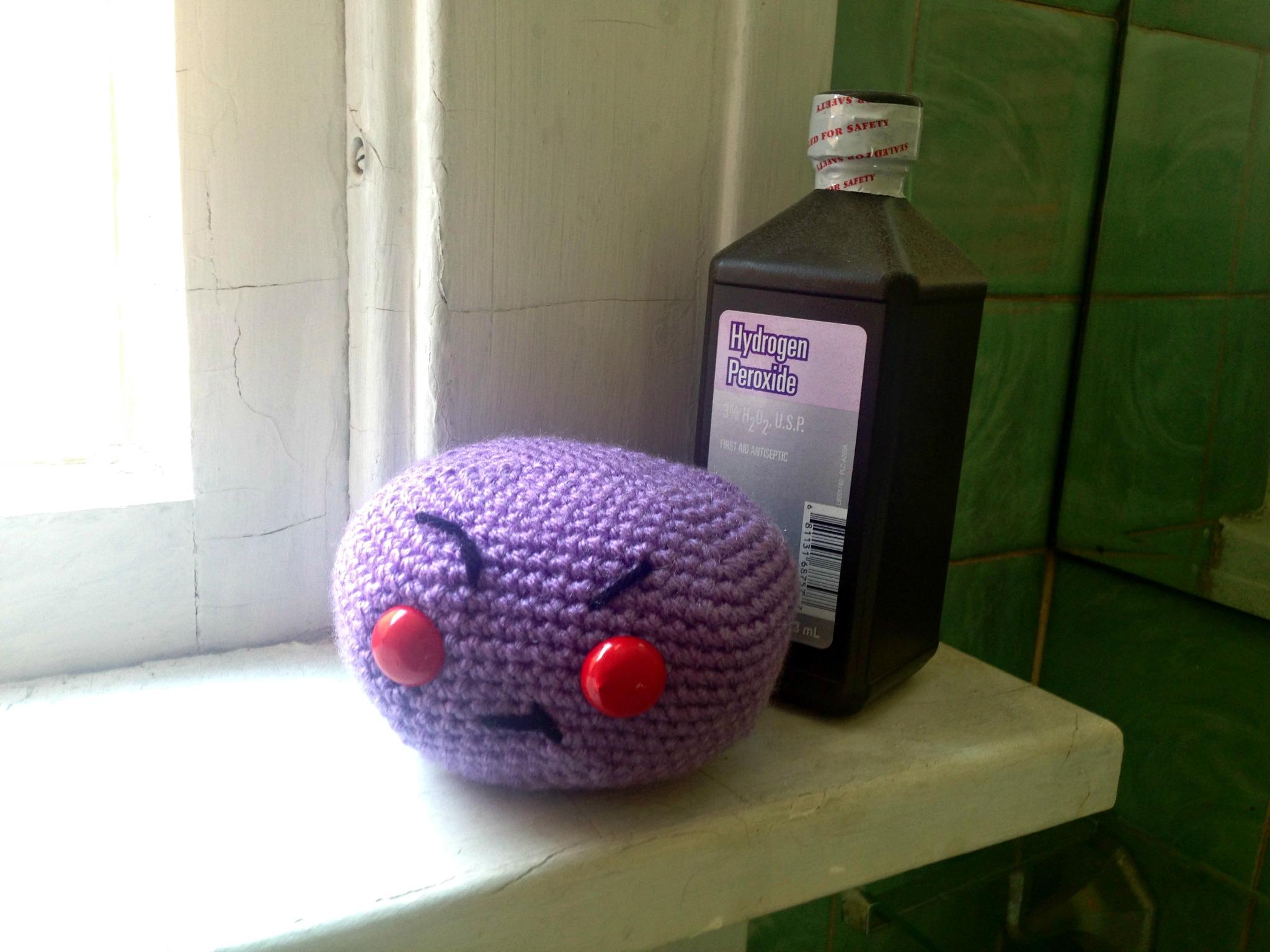 Free Crochet Pattern – Anthrax
