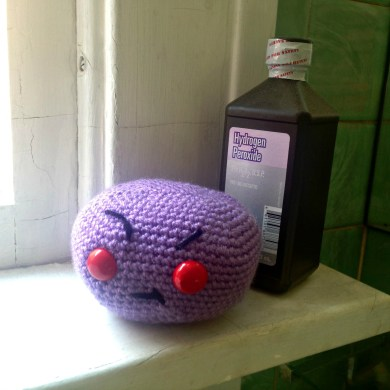 Crocheted Anthrax