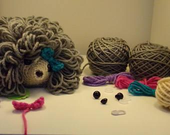 Crochet Hedgehog kit