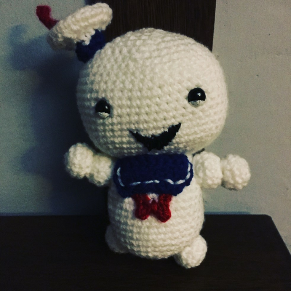 Crochet Stay Puft Marshmallow Man
