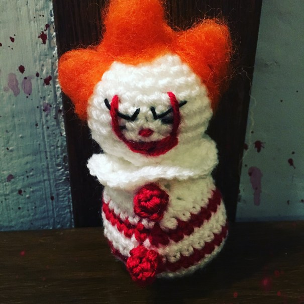 Crochet Pattern for the newest Pennywise