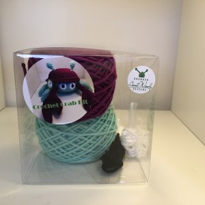 Crochet kit for a Crab