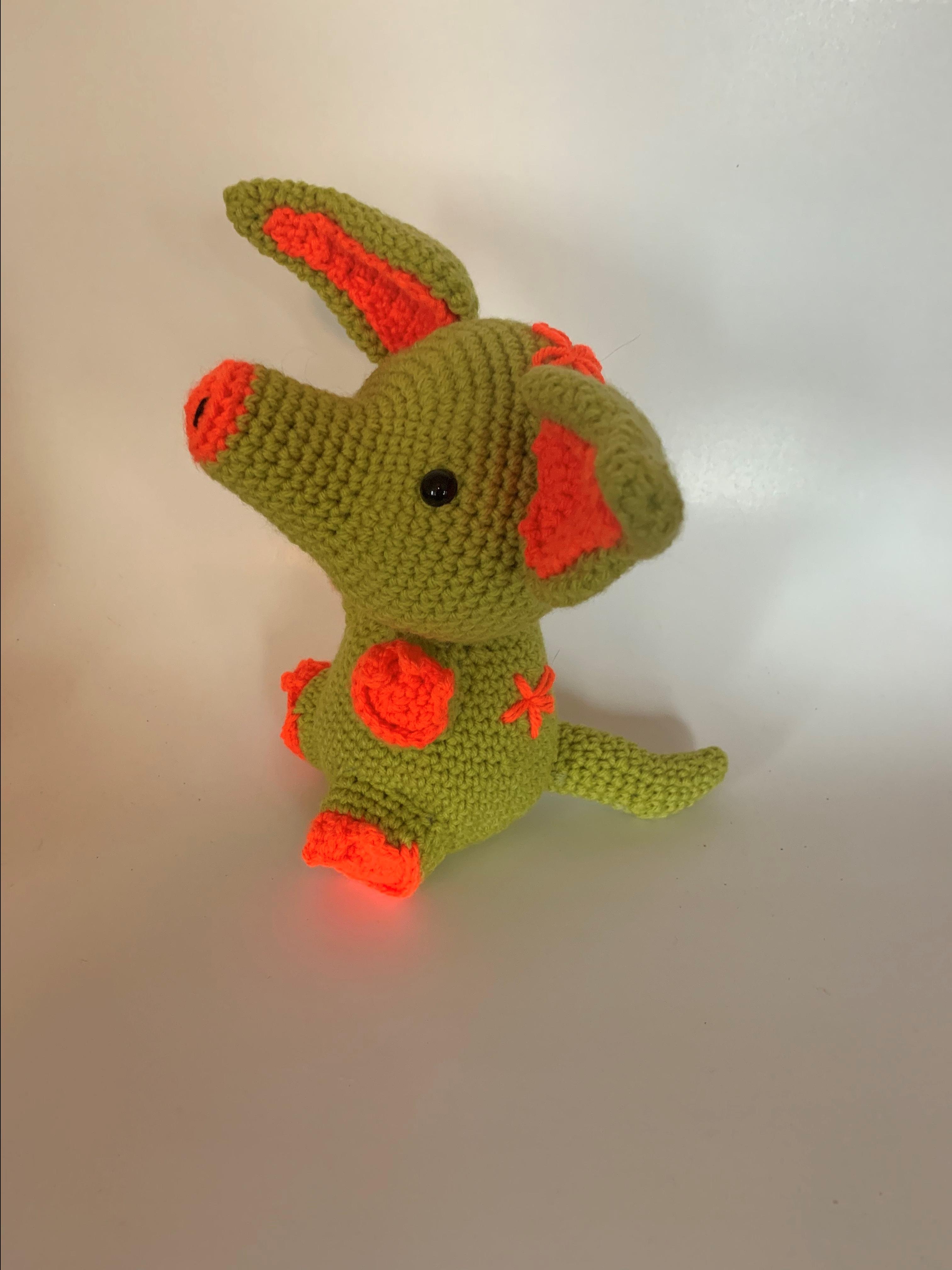 A is for Aardvark – Free Crochet Pattern