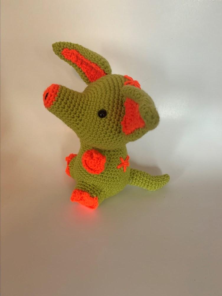 Crochet pattern aardvark