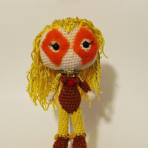 Crochet Cheetara Doll