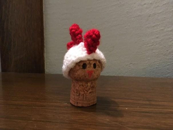 Crochet Chicken ornament