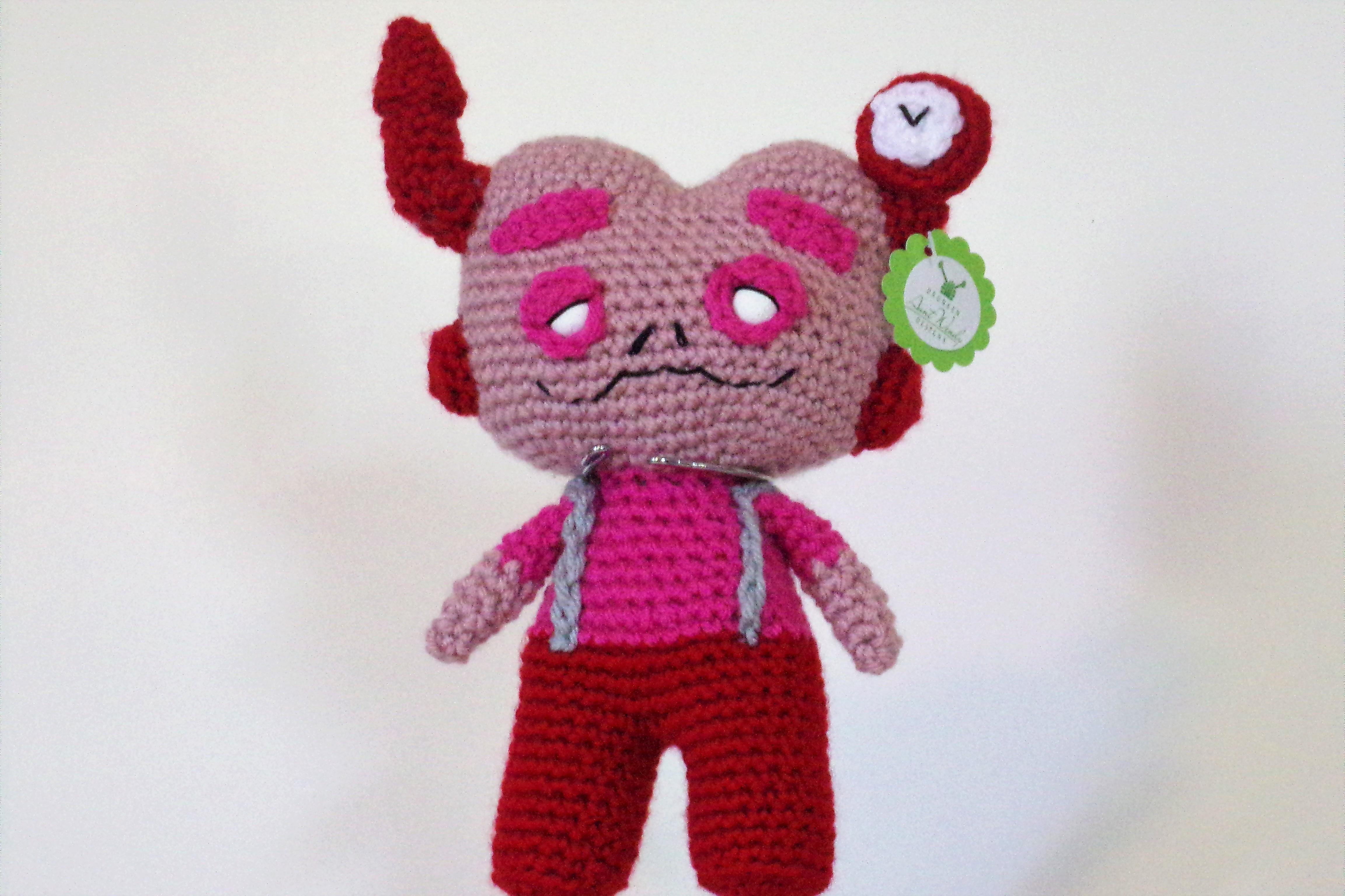 Franken Berry – Free Crochet Pattern
