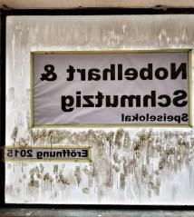 Nobelhart & Schmutzig Billy Wagner - Speiselokal Fensterfront von Innen