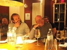 Jan Hugel & Maxim Boillat lauschen gespannt