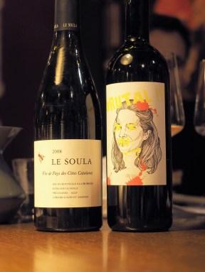 Le Soula Roussillion 2008 & Gut Oggau Brutal Burgenland 2015