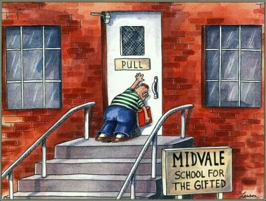 Far Side Gary Larson Gifted School