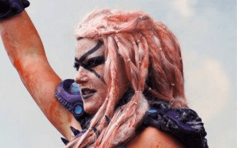 Apparently, GWAR's new member shoots blood out of her boobs. So, that's something, I guess
