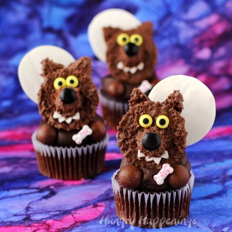 reeses-cup-werewolf-cupcakes-halloween-recipes
