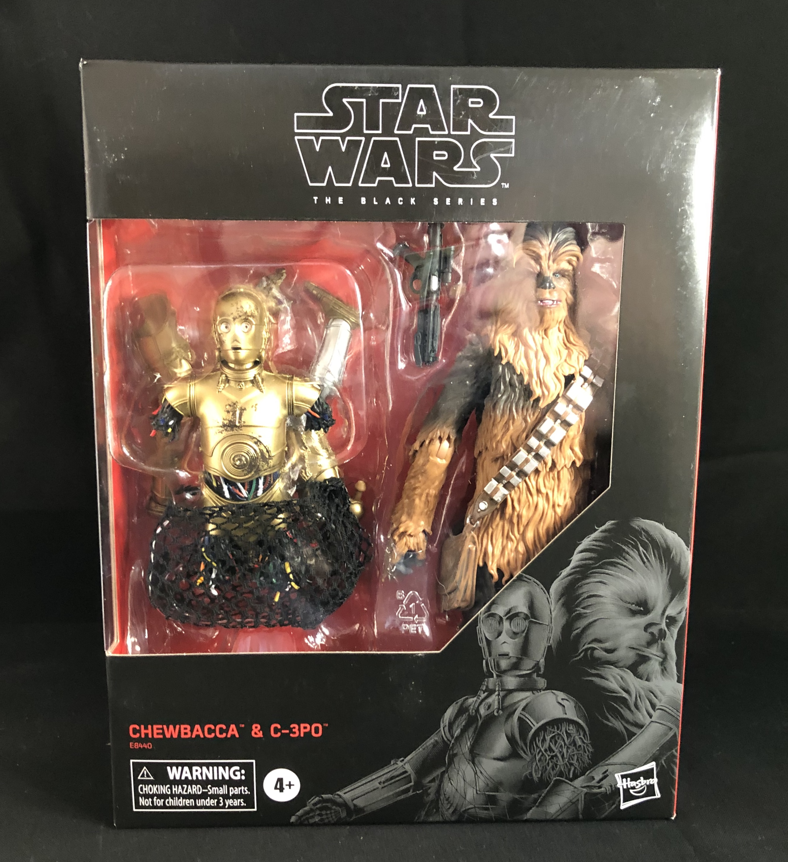 Star Wars Galactic Heroes C3-PO et Chewbacca Chewie 1st Edition