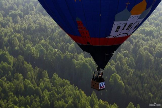 Полёт на воздушном шаре. Соревнования по воздухоплаванию
